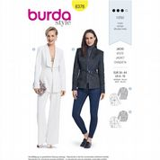 6376 Burda Pattern: Misses' Jacket